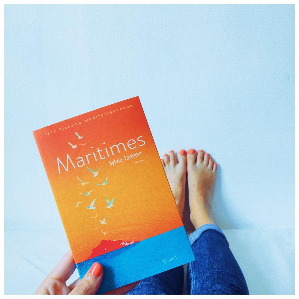 Maritimes, Sylvie Tanette, Editions Grasset, The Unamed Bookshelf