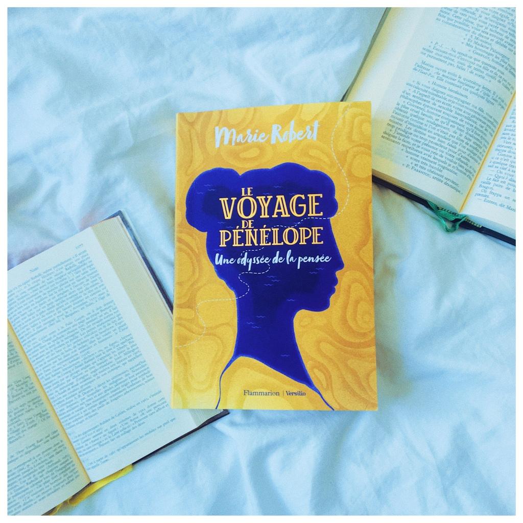Le voyage de Pénélope Une odyssée de la pensée Marie Robert Flammarion Versilio Philosophie Voyage The Unamed Bookshelf