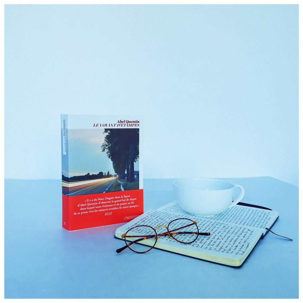 Le voyant d'Etampes, Abel Quentin, Editions de l'Observatoire, The Unamed Bookshelf, Rentrée littéraire 2021
